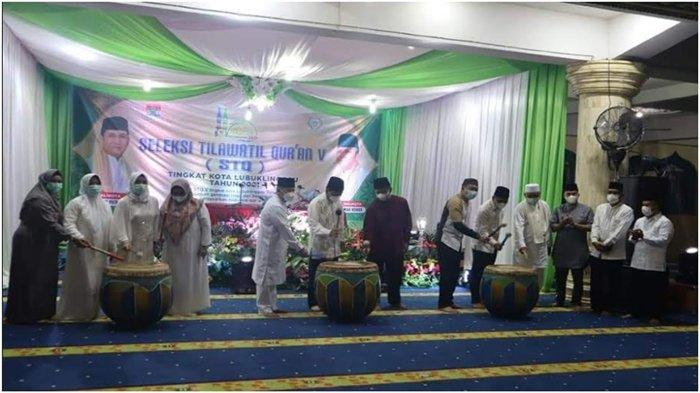 Wali Kota Prana Putra Sohe Buka STQ V Tingkat Kota Lubuklinggau 2021