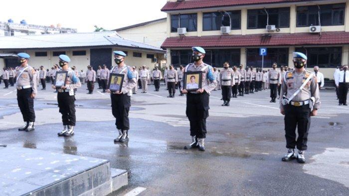 Pimpin Upacara PDTH Anggota,  Kapolda Sumsel, 'Semoga Tidak Ada Lagi Upacara Seperti Ini Lain Waktu'