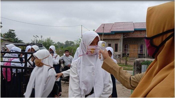 Sekolah di Kabupaten Muratara 100 Persen Siap Belajar Tatap Muka, Disiplin Prokes Diperketat