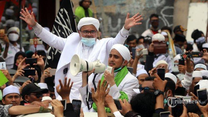 Habib Rizieq Bakal Gelar Tabligh Akbar Keliling Indonesia, Bakal Ada Kerumunan, Provokator Ditangkap