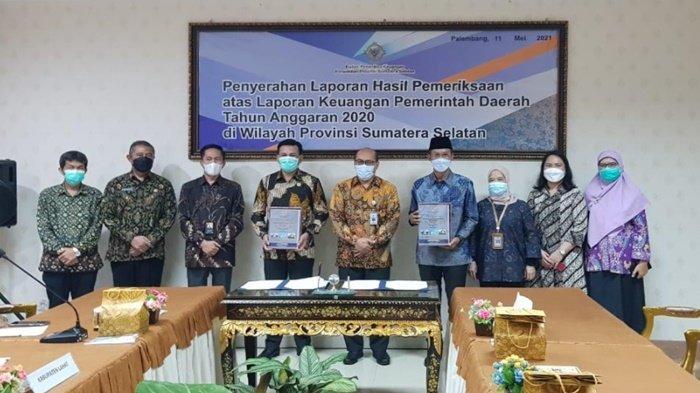 Walikota Palembang Kembali Terima WTP 11 Kali Berturut-turut