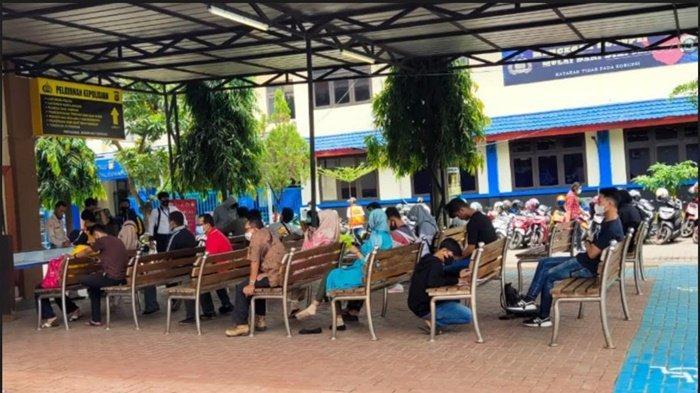 Pembuatan SKCK di Polrestabes Palembang Meningkat 100 Persen, Persiapan Pendaftaran Polri dan CPNS