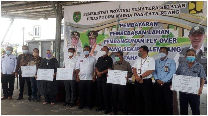 Pemprov Sumsel Bayarkan Pembebasan Lahan FO Simpang Sekip,Tahap 2 Ada 20 Persil, Dana Rp 12,7 Miliar