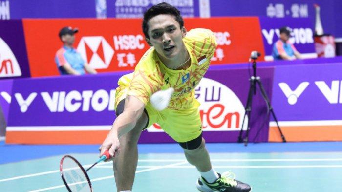 Denmark Open 2018 - Tunggal Putra Indonesia Habis Tak Tersisa Usai Jonatan Christie Kalah