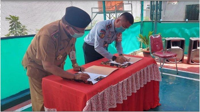 Napi Lapas Surulangun Rawas Muratara Belajar Ngelas, Kalapas, 'Bekal Usai Jalani Hukuman'
