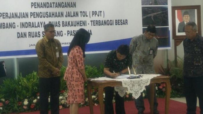 Pemerintah Kebut Pembangunan Trans-Sumatera Demi Asian Games