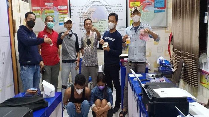 Pasutri di Prabumulih Diduga Bandar Sabu, Diamankan Saat Bungkusi Narkoba