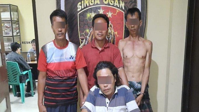 Komplotan Pencuri Kerbau di Kedaton Peninjauan Raya OKU Diringkus Polisi