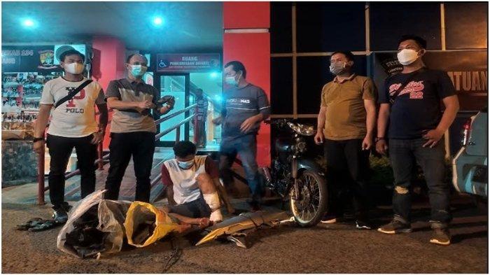 Eko Warga Sei Selincah Kalidoni Preteli Motor Curian, Ngaku ke Polisi untuk Pakai Sendiri