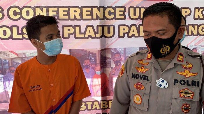 Curi Motor di Talang Bubuk Plaju Palembang, Satu Pelaku Diringkus Polisi