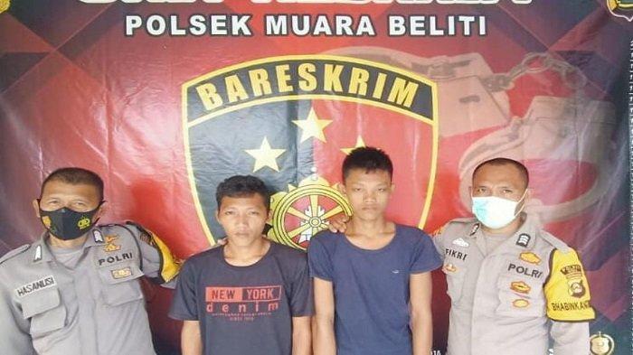 Ambil Senapan Hingga Gergaji Mesin dari Pondok Kebun Jeruk di Musi Rawas, Dua Pelaku Ditangkap