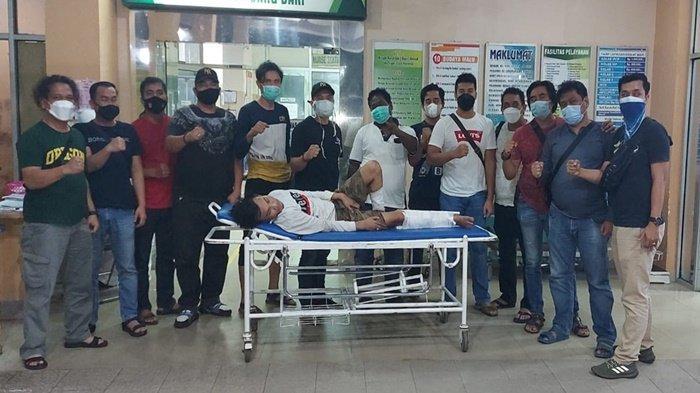 Pria 3 Ulu Dibekuk Karena Curi Motor di Jalan Bambang Utoyo Palembang, Betis Ditembak