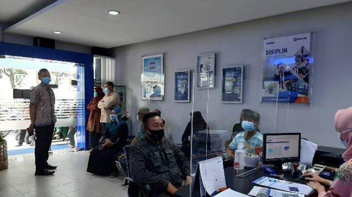 BRI Kantor Wilayah Palembang Layani Pencairan BPUM Sesuai Protokol Kesehatan