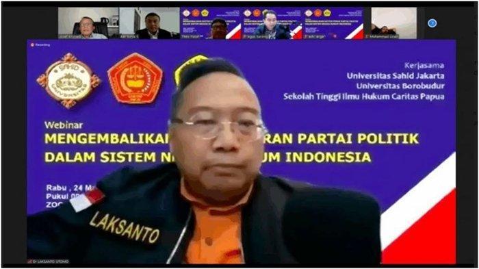 Sebut Moeldoko Ketum PD Sah Secara Hukum, Ini Analisa Pengamat Hukum Dr Laksanto