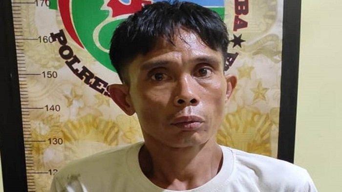 Edi Penjual Sabu di Nibung Muratara Ditangkap Polisi, Simpan Sabu di Dompet Pink