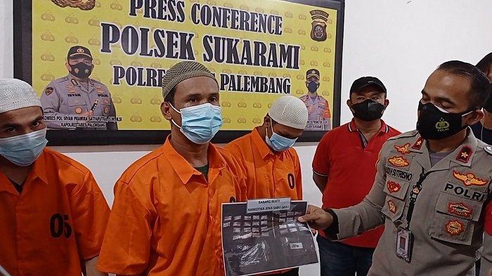 Edarkan Sabu di Jalan Naskah Palembang, Tiga Sekawan Diringkus Polisi