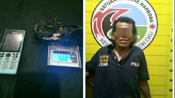 Sudah Diintai, Pengguna Ganja di Kecamatan Baturaja Timur OKU Ditangkap Warga