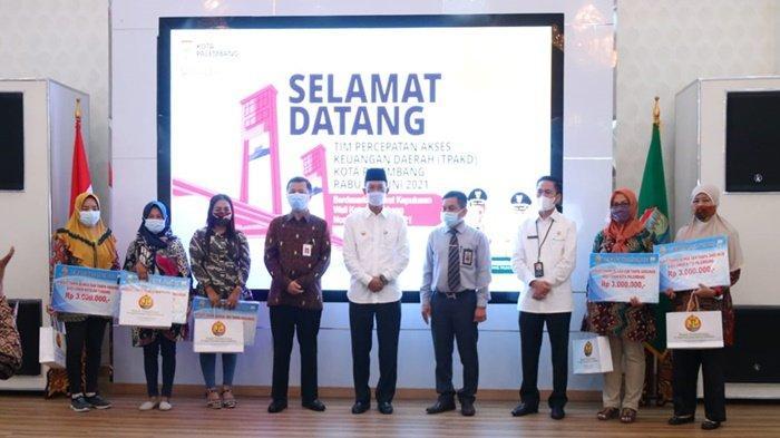 Walikota Palembang Harnojoyo Kukuhkan TPAKD, Prioritas Pulihkan Ekonomi