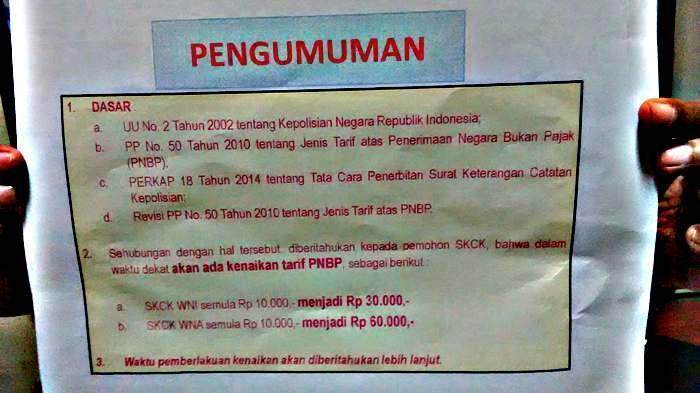 Cara Membuat SKCK di Polrestabes Palembang, Berikut Syarat dan Waktu Pelayanan Pembuatannya