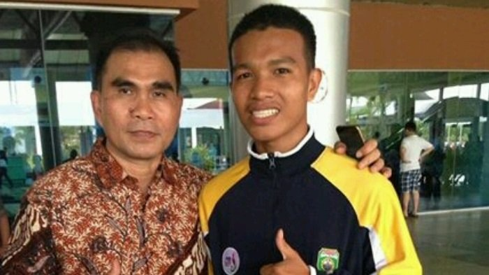 Atlet Muay Thai MAN 1 Palembang Sambut Kedatangan PBMI