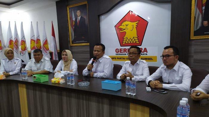 Gerindra Sumsel Dorong Kader Maju Pilkada, 3 Daerah Jadi Prioritas