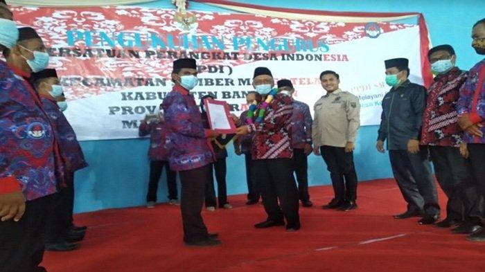 Pengurus PPDI Kecamatan Sumber Marga Telang Masa Bakti 2021-2026 Resmi Dikukuhkan
