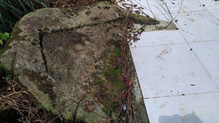 Melihat Peninggalan Megalitik di Muara Cawang Lahat, Ada Arca Kerbau Tapi Ditimbun Rumah Beton