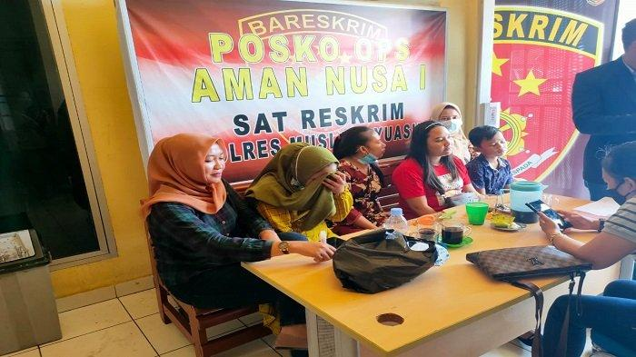 Mediasi dengan Keluarga Bandar Arisan Kandas, 15 Orang Korban Lapor ke Polres Muba