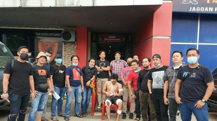 Dua Kakinya Pun Ditembak Polisi, Nasib Jambret Bengis Buron Palembang