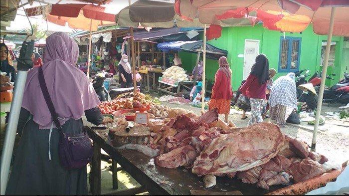 1 Hari Jelang Idul Adha, Harga Ayam Potong di Muratara Rp 30 Ribu per Kg, Pedagang Sepi Pembeli