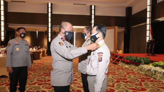 Jelang Purna Tugas, Personel Polda Sumsel Diberi Pembekalan dan Pelatihan Keterampilan