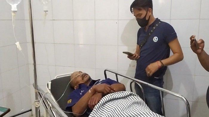Petugas TPU Telaga Swidak Ditusuk Pria Tak Dikenal di 7 Ulu Palembang