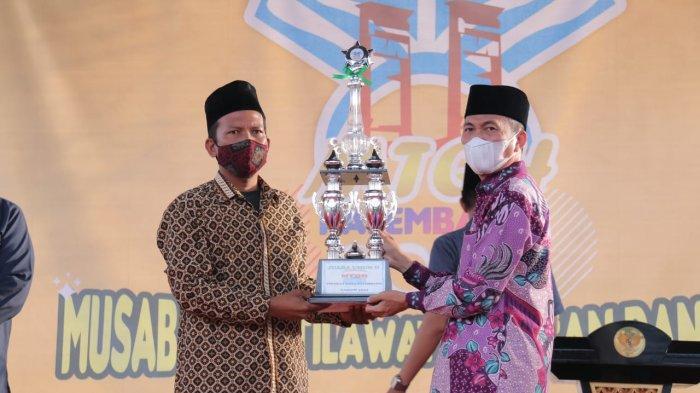 Kecamatan Bukit Kecil Berhasil Jadi Juara MTQH 2021 Kota Palembang