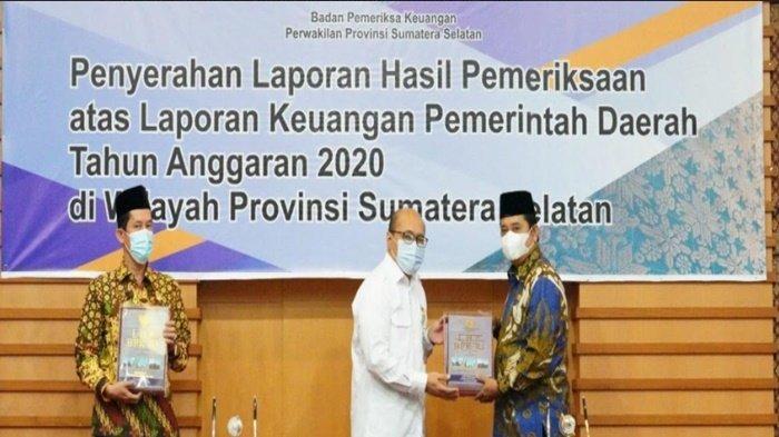 LKPD Tahun Anggaran 2020 Kabupaten Banyuasin Raih WTP