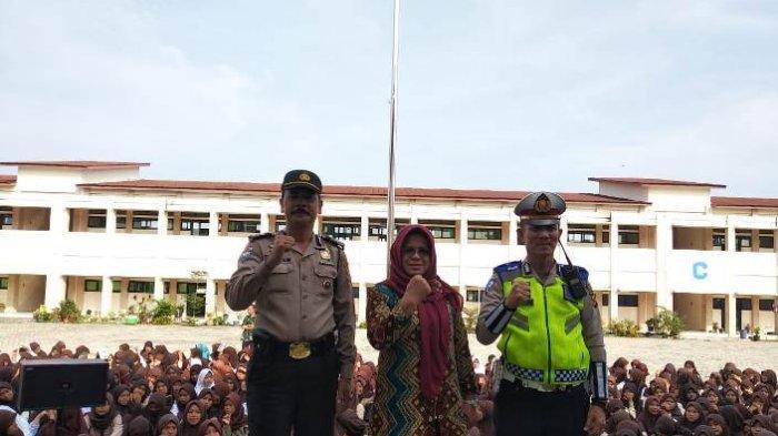 Polres Muaraenim Beri Pembinaan dan Penyuluhan kepada Siswa SMA di Empat Sekolah