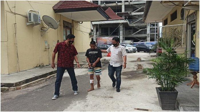Pulang Kampung ke Palembang Perampok Toko Emas di Sayangan Ditangkap, Buron Sejak 2018
