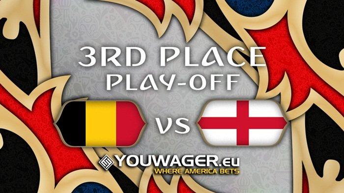 Nonton Live Streaming Perebutan Tempat Ketiga Piala Dunia, Belgia Vs Inggris di HP,Ini Caranya