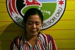 Perempuan Bandar Narkoba Desa Sumber Bahagia  Dibekuk  Polisi