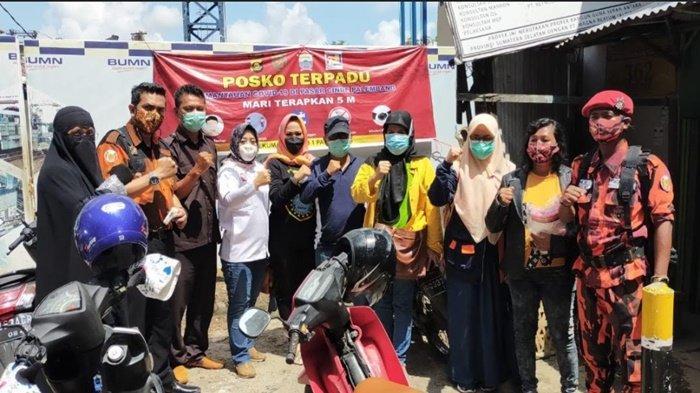 Perempuan Indonesia Maju Sumsel Prakarsai Kegiatan Gerakan Cepat, Tekan Penyebaran Covid 19
