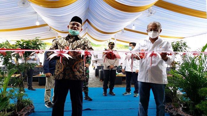 Bupati Muaraenim dan Dirut PTBA resmikan Gedung SD dan SMP Bukit Asam