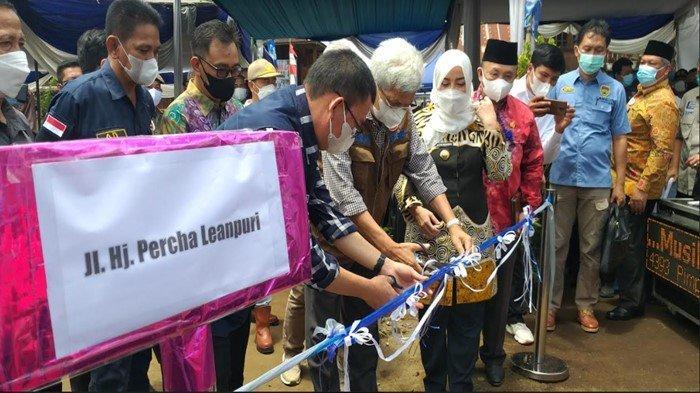 Nama Percha Leanpuri Diabadikan Jadi Nama Jalan di Pagaralam, Warga: Ini Bentuk Penghargaan Kami