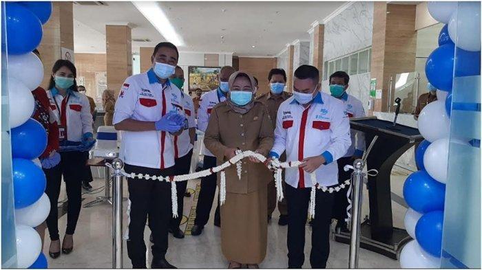 Buka Payment Point BSB di RSUD Siti Fatimah, Pasien Lebih Mudah Bayar Keperluan Berobat