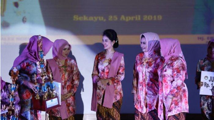 Peringatan Hari Kartini di Muba, Thia Yufada Ingatkan Jangan Beli Gambo Muba Palsu