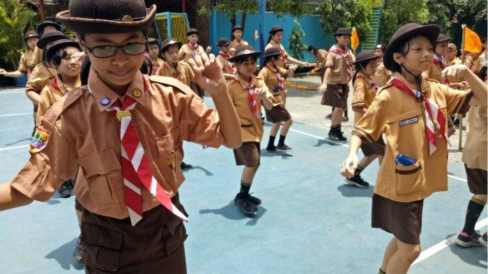 152 Siswa SDK Frater Xaverius 2 Palembang Mengikuti Perkemahan Jumat Sabtu (Perjusa)