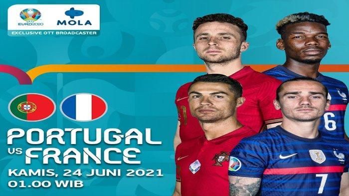 Jelang Laga Portugal vs Prancis di Piala Eropa 2020 : Turunkan Kekuatan Terbaik, Tak Ganti Formasi