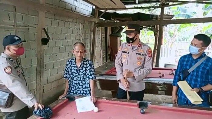 Beredar di Medsos, Permainan Biliar di Desa Suka Cinta Ogan Ilir Ditutup Polisi