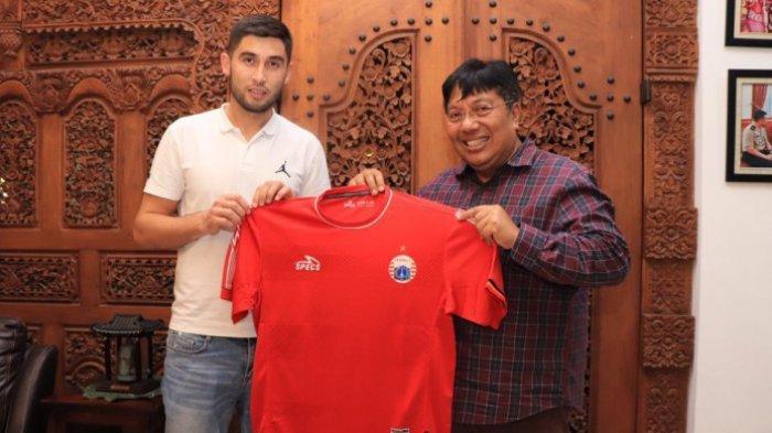 Persija Rekrut Pemain Timnas Uzbekistan Jahongir Abdumuminov, ini Profil Lengkapnya