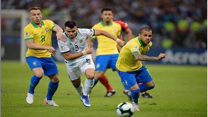 4 Pemain Argentina Biang Kerok Dihentikannya Laga Brasil vs Argentina yang Baru Berjalan 6 Menit