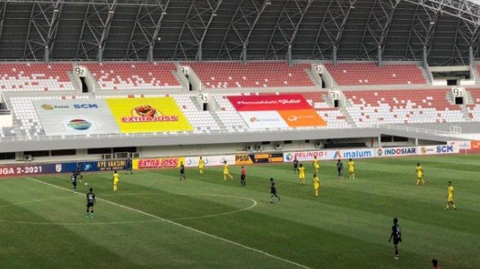 Hasil PSMS Medan vs Muba Babel United di Liga 2 : Rahmad Hidayat Gemilang PSMS Raih Poin Perdana