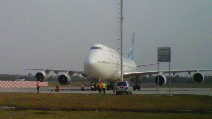Oktober, Garuda Mulai Penerbangan Umroh dari Palembang ke Jeddah